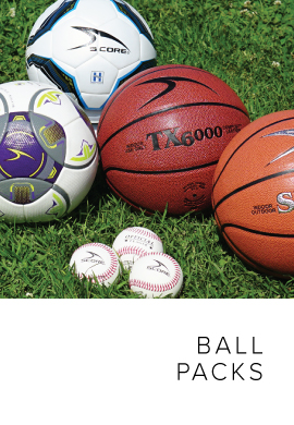 Ball Packs & Accessories