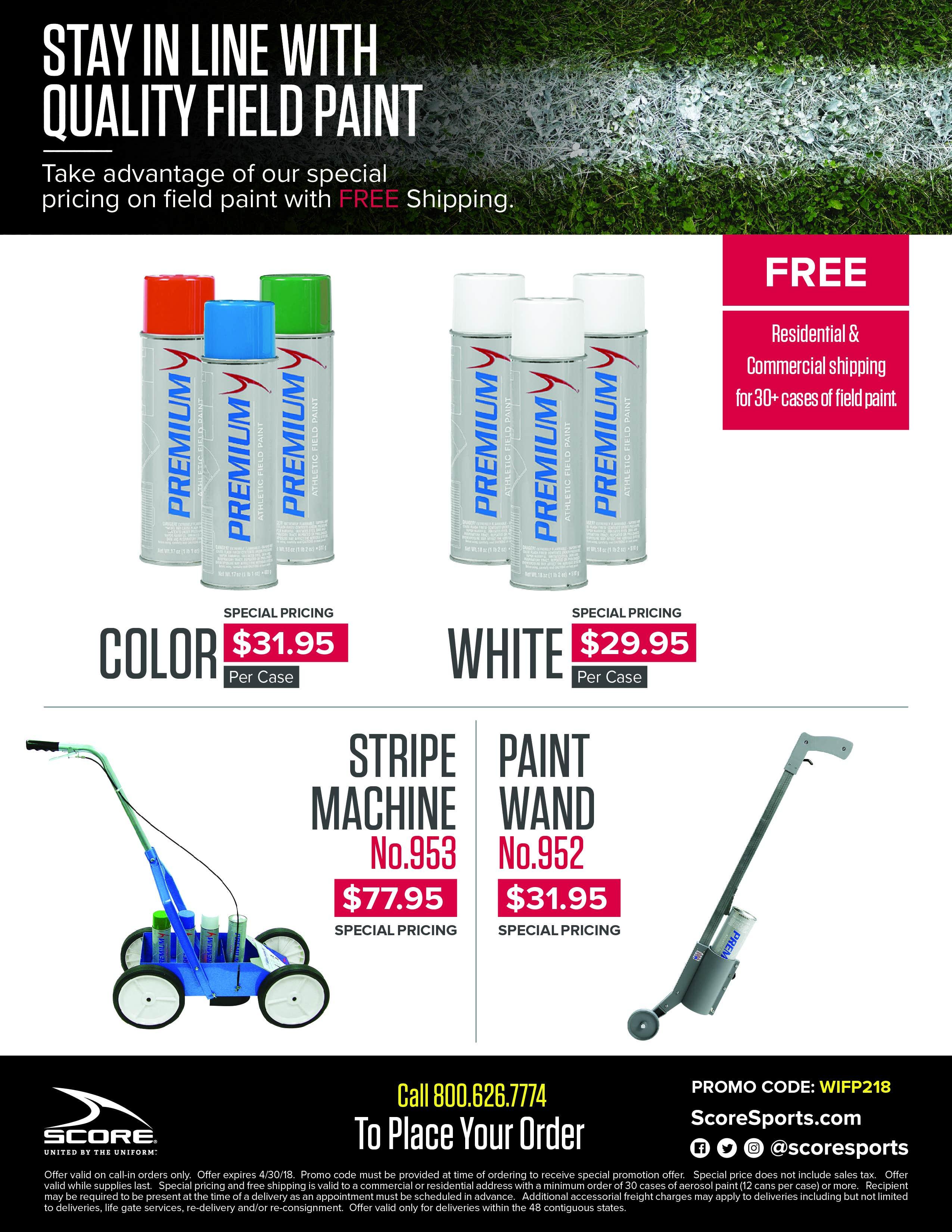 Field Paint Sale