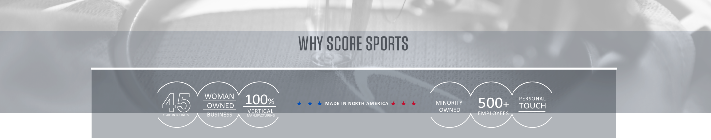 Why Score Sports - Made in North America
